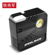 铁将军 车载充气泵汽车打气泵车用12v电动便携式应急轮胎充气泵P03