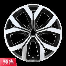 预售 丰途严选/HG0557 19寸 大众途昂原厂款轮毂 孔距5X112 ET34黑色车亮