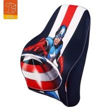 GiGi漫威Marvel汽车头枕腰靠复仇者联盟4卡通记忆棉车用腰靠-美国队长1
