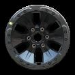 【四只套装】丰途/华固HG6335 17寸 成型锻造轮毂 孔距6X135 ET34灰色涂装 福特F-150猛禽原厂精品轮毂