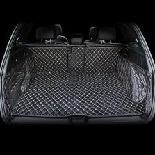 五福金牛 全包围后备箱垫专车专用皮革尾箱垫【黑色】