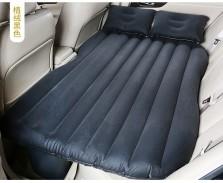 沿途 车载充气床后排旅行床车内后座气垫床 分体无档 植绒 F26 黑色