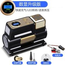 尤利特 车载充气泵 高压直驱快速充气泵数显预设自动充停款 YD-380数显