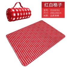 野餐垫户外便携可折叠ins风沙滩帐篷地垫野餐布草坪垫子加厚防潮200x150