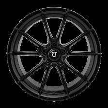 【热销款 买3送1 四只套装】丰途/FT508 17寸低压铸造轮毂 孔距5X114.3 ET40亚黑涂装
