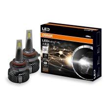 欧司朗火影者 汽车LED大灯近光灯泡雾灯泡 超亮6000k HB3(9005)/HB4 (9006)一对