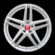 【券后价1327元/只 四只套装】丰途/FR552 19寸 旋压铸造轮毂 孔距5X114.3 ET40银色涂装_