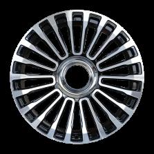 【四只套装】丰途/CF125 21寸 锻造轮毂 定制 亮黑车面