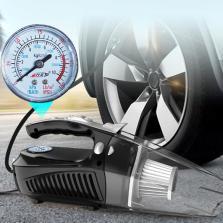 车行天下车载吸尘器充气泵 吸尘+充气 测压+照明 双电机动力 多功能车载吸尘器【黑色】8513-C