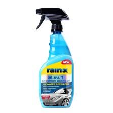 rain-x 清洁上光驱水镀膜剂 玻璃清洁剂 防雨剂 玻璃镀膜剂680ml(620115)