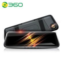 360行车记录仪m320尊享版高清夜视前后双录后视镜流媒体标配+32G卡