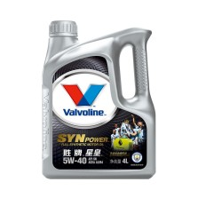 【正品授权】美国胜牌/Valvoline 星皇SYN POWER 曼城冠军版 全合成机油 SN 5W-40 4L【886710】