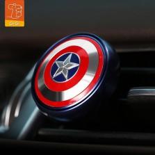 GiGi漫威Marvel车载香薰汽车出风口香水持久淡香车内摆件装饰品 美国队长
