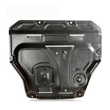 08-19款速腾 钜甲合金汽车发动机护板 底盘装甲挡板保护板防护底板发动机下护板专用 3D合金下护板2.5mm