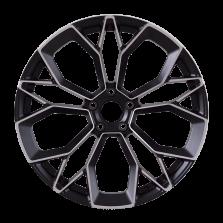 【四只套装】丰途/CF169 21寸 保时捷MACAN锻造轮毂 定制 亚黑车面