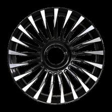 【四只套装】丰途/CF171 21寸 锻造轮毂 定制 亮黑车面