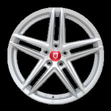 【券后价1327元/只 四只套装】丰途/FR552 19寸 旋压铸造轮毂 孔距5X120 ET28银色涂装