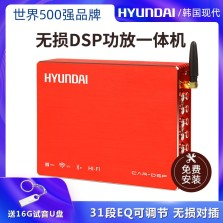 现代/HYUNDAI 免费安装 汽车DSP功放一体机专车专用31段智能音频处理器无损音响改装5.1声道