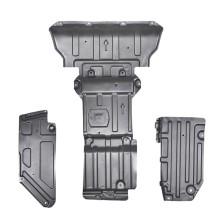 Jeep自由光 钜甲 发动机下护板 车底防护板 锰钢专用发动机护板【3D锰钢下护板1.5mm】 (5件套 发动机+主驾驶侧护板2片+副驾驶侧护板2片)