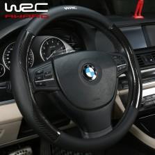 WRC四季碳纤纤皮方向套 黑色