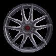 【新品 85折 四只套装】丰途/FR556 18寸 旋压铸造轮毂 孔距5X114.3 ET35亮铁灰全涂装