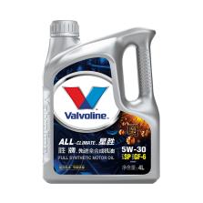 【正品授权】美国胜牌/Valvoline All-Climate 星胜先进全合成机油 SP/GF-6 5W-30 4L【889615】
