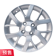 预售 丰途严选/HG1309 14寸 日产新阳光原厂款轮毂 孔距4X100 ET40银色涂装
