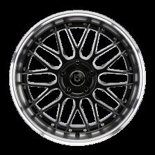 【买3送1 四只套装】丰途/FT110 18寸 低压铸造轮毂 孔距5X114.3 ET42黑色全涂装车边 免费安装+送铝合金气门嘴+送螺栓/螺母+免费动平衡+专业改装