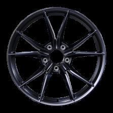 【四只套装】丰途/CF170 21寸 保时捷718 GTS锻造轮毂 定制 亚黑