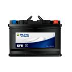 瓦尔塔/VARTA EFB启停免维护汽车电蓄电池 电瓶 6-QW-70/H6-70-L-T2-E带自动启停车型【EFB/12月质保】