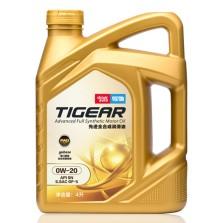 【韩国SK制造】驾驰/THINKAUTO TIGEAR PAO先进全合成润滑油 SN/GF-5 0W-20 4L