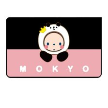皇冠猴MOKYO 磁吸防晒遮阳帘 正版授权卡通遮光布【C粉嫩猴-后排侧窗单片】