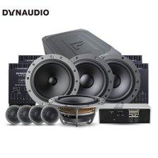 免费安装 丹拿DYNAUDIO ESOTAN 236 +232 汽车音响改装 两分频套装+480.6C DSP+F68八喇叭超薄低音处理器功放套餐