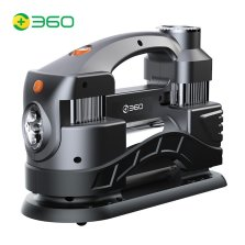 360 Q5车载充气泵双缸打气泵数显款有线