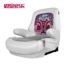 路途乐儿童安全座椅增高垫3-13岁宝宝汽车用安全便携简易车载坐垫通用
