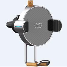 咚咚AI智能语音支架车载无线充电器手机架汽车用出风口全自动感应 HX无线充标准版
