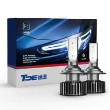 途虎定制 途逸F1 汽车LED大灯 H7 一对装 白光 近光