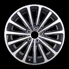 丰途严选/HG1363 18寸 大众帕萨特/迈腾原厂款轮毂 孔距5X112 ET48黑色车亮