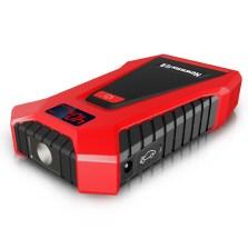 纽曼 汽车应急启动电源 车载电瓶多功能启动宝【屏显加强版】S400L  黑红