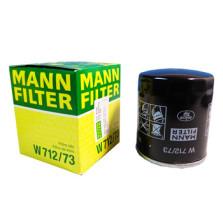 曼牌/MANNFILTER 机油滤清器 W712/73