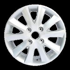 【四只套装】丰途严选/HG5001 15寸低压铸造轮毂 孔距4*114.3 凯越
