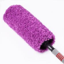卡饰社 纳米纤维 可伸缩 360度 掸子扫 升级版 【紫色】