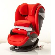 德国cybex/赛百适pallas M-fix汽车儿童安全座椅 ADAC认证 ISOFIX接口 9个月-12岁【热辣红】
