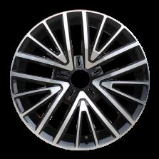 【买3送1 四只套装】丰途严选/HG1356 17寸 大众凌渡原厂款轮毂 孔距5X112 ET50黑色车亮