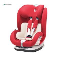 宝贝第一 铠甲舰队尊享版 9月-12岁 isofix 儿童汽车安全座椅(经典红)