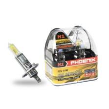 飞尼科斯/PHOENIX 黄金眼升级灯泡 12501  H1(AS) 2700K 55W【下单请备注车型】
