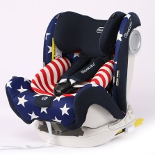 REEBABY儿童安全座椅汽车用 0-12岁全注塑isofix硬接口 926 美国队长