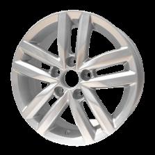 丰途严选/HG0482 15寸 大众捷达原厂款轮毂 孔距5X100 ET40银色涂装
