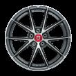 【限时7折 四只套装】丰途/FR553 18寸 旋压铸造轮毂 孔距5X112 ET42亮铁灰车亮