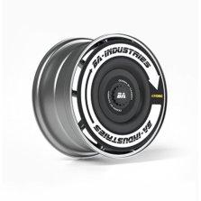 BA 湾区工业| 特斯拉model 3/y专用改装轮毂盖 白色(基础款) 2只装